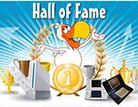 Hall of Fame (Gagnants des Tournois CyberDodo)
