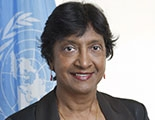 Mrs Navanethem Pillay, UN High Commissioner for Human Rights, 2008 - 2014