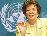 Mrs. Mary Robinson. UN High Commissioner for Human Rights, 1997 - 2002