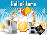 Hall of Fame (Gagnants des Tournois CyberDodo)