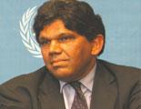 Sr. Bertrand Ramcharan, Alto Comisionado de las Naciones Unidas para los Derechos Humanos, 2003 – 2004